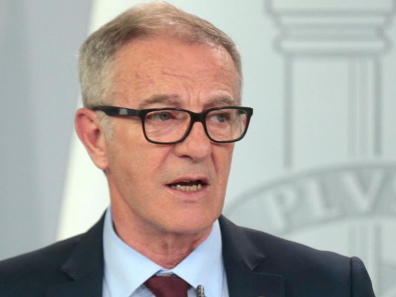 Исполняющий обязанности министра культуры и спорта Испании Хосе Гирао
