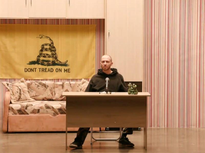 Рэпер Оксимирон и актеры запустили онлайн-спектакль, в котором за чтение классики дают сроки