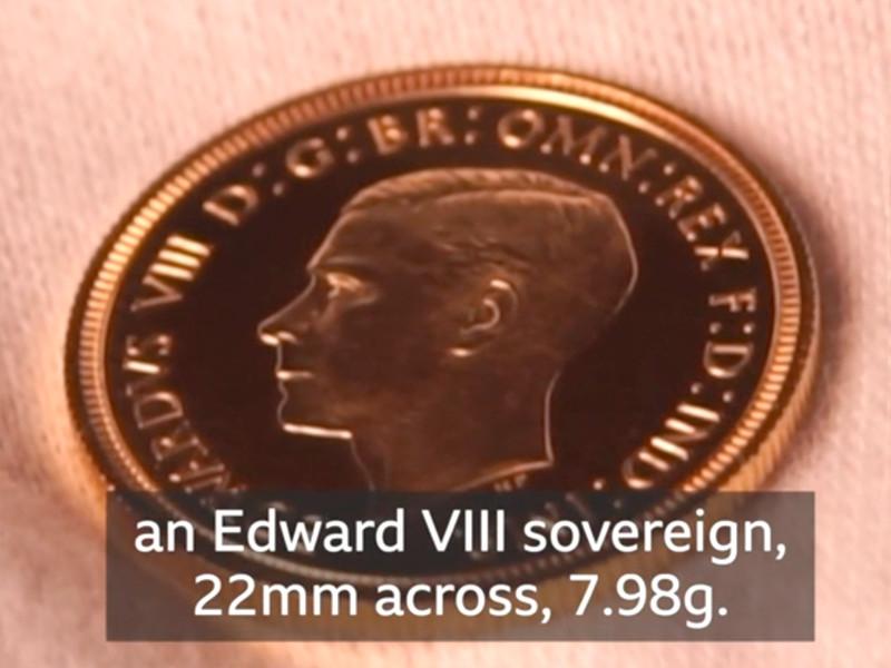 Золотой соверен 1937 года продан в США за миллион фунтов стерлингов