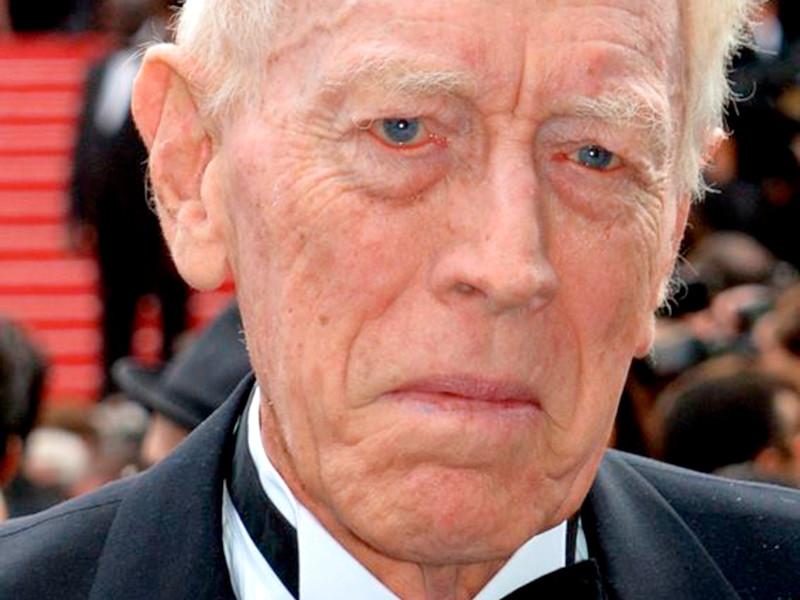 """Во Франции в возрасте 90 лет скончался актер Макс фон Сюдов, сыгравший в 100 фильмах и сериалах, в том числе в """"Игре престолов"""""""