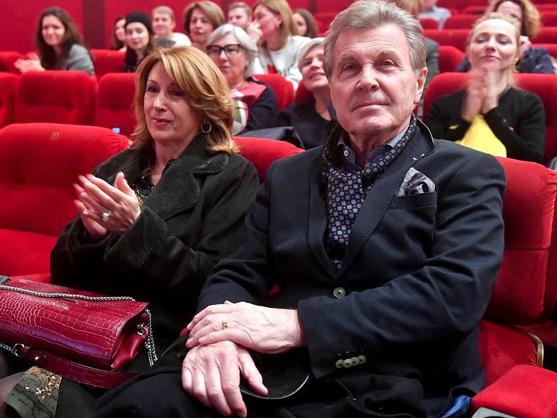 Лев Лещенко и его супруга Ирина