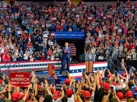 """Песня The Rolling Stones """"You Can't Always Get What You Want"""" (""""Ты не можешь всегда получать то, что хочешь"""") была исполнена 21 июня на встрече Трампа с избирателями в Талсе (штат Оклахома), которую он провел несмотря на пандемию коронавируса"""