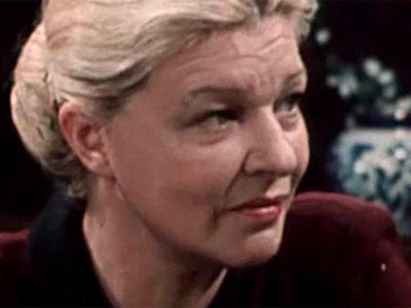 Заслуженная артистка РФ, актриса театра имени Моссовета Галина Дашевская скончалась на 80-м году жизни