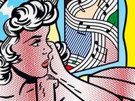 """Картина американского художника, представителя поп-арта Роя Лихтенштейна """"Обнаженная с веселым рисунком"""" (""""Nude with Joyous Painting"""") ушла с молотка на аукционе Christie's за 46,2 млн долларов"""