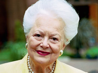 """Двукратная обладательница премии """"Оскар"""", исполнительница роли Мелани Уилкс в фильме """"Унесенные ветром"""" Оливия де Хэвилленд скончалась в Париже в возрасте 104 лет"""