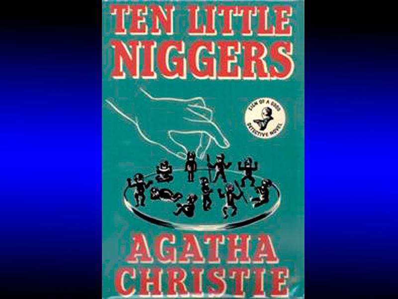 Во Франции из бестселлера Агаты Кристи убрали все упоминания негритят