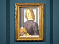 """Картину Боттичелли """"Портрет молодого человека с медальоном"""" продали более чем за 92 млн долларов"""