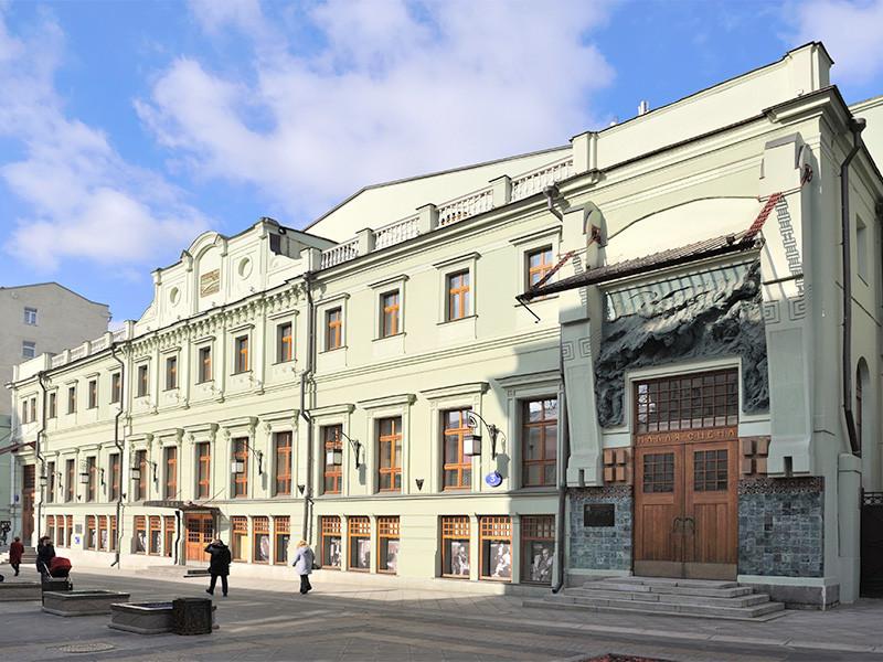 Полиция проводит проверку по факту инцидента в Московском художественном театре имени А.П. Чехова