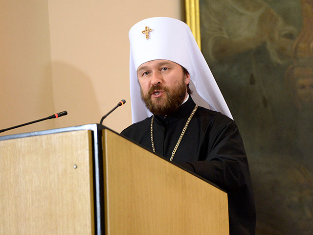 Председатель ОВЦС митрополит Волоколамский Иларион