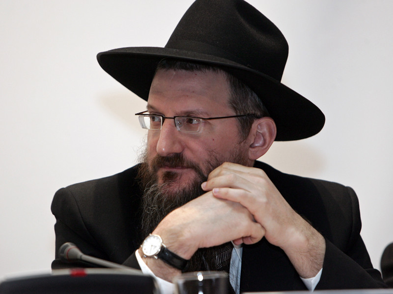 Берл Лазар заявил о низком уровне антисемитизма в стране