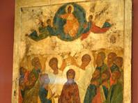 Православные верующие отмечают праздник Вознесения Христова
