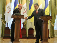 Порошенко встретился с госсекретарем Ватикана и пригласил Папу Франциска на Украину