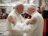 Папа Франциск поздравил Бенедикта XVI с 65-летием пастырского служения