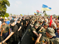 МВД заблокировало следование Всеукраинского крестного хода по улицам Киева: нашли гранаты