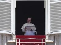Папа Римский прервал свою речь, чтобы помолиться о жертвах землетрясения в Италии