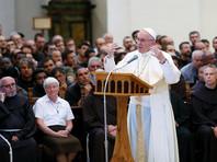 Папа Римский Франциск побывал у Франциска Ассизского