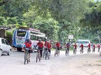 """Монахини кунг-фу"" завершают велопробег на 4000 километров против торговли людьми"