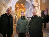 Храм на острове Липно, который посетили Путин и Медведев, реконструируют