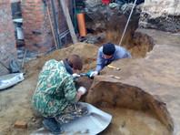 При реставрации Свято-Никольского собора в Омске откопали захоронения бронзового века