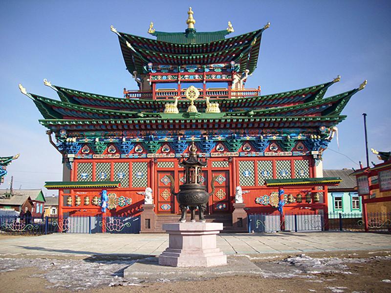 В Бурятии зафиксировали передвижение тела Хамбо-ламы, умершего почти 90 лет назад