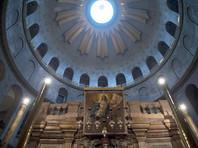 В храме Гроба Господня впервые выставят хранившийся под мраморной плитой камень, на котором лежало тело Христа