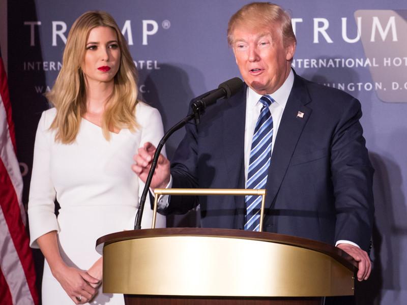 Дочь Трампа накануне выборов президента США помолилась за победу отца