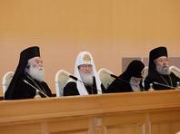 Путин, Медведевы и Лукашенко поздравили с 70-летием патриарха Кирилла в храме Христа Спасителя