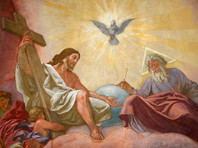 """Один из вопросов, заданных россиянам, был сформулирован следующим образом: """"Какое из утверждений вы считаете правильным: """"Святой Дух исходит и от Отца, и от Сына"""" или """"Святой Дух исходит только от Отца""""?"""""""