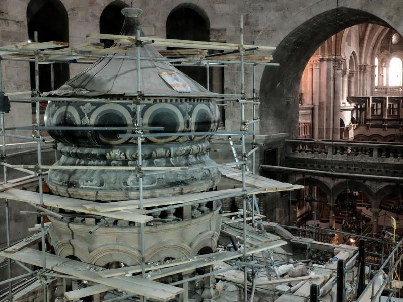 Археологи подтвердили, что гробница Христа в Иерусалиме не меняла места со времен императора Константина