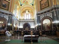Патриарх Кирилл в храме Христа Спасителя провел отпевание погибшего в Турции посла Карлова