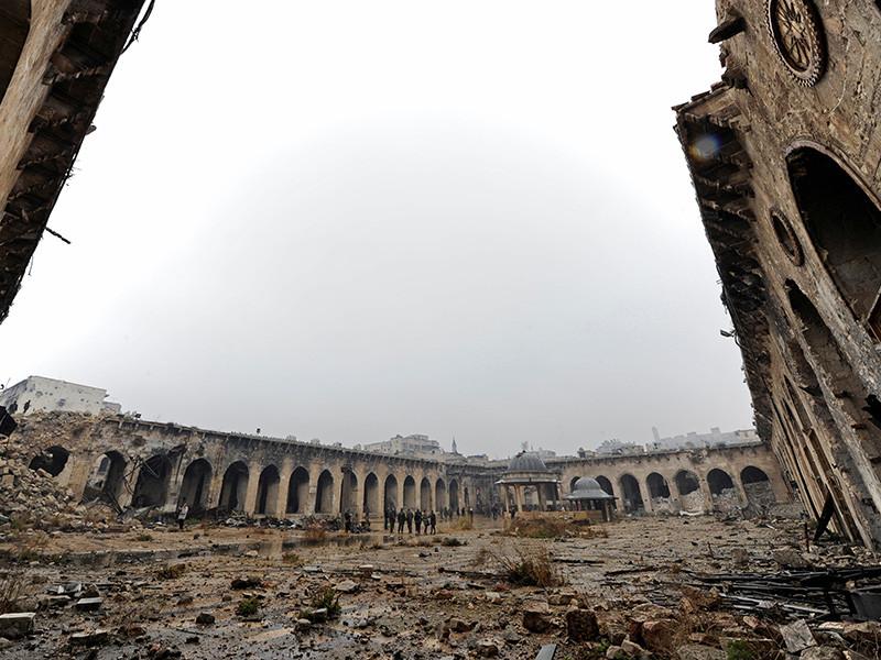 Региональный общественный фонд имени Ахмата-Хаджи Кадырова намерен восстановить в сирийском Алеппо средневековую мечеть Омейядов (Масджид аль-Умайя би Халаб)