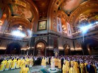 В храме Христа Спасителя прошло рождественское богослужение
