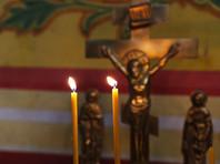 В Омской области появилась церковь из снега, в которой можно поставить свечку (ФОТО)