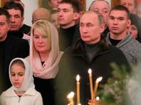 Путин в поздравлении с Рождеством заявил об усилении взаимодействия РПЦ с госструктурами