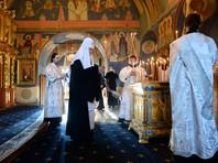 Патриарх Кирилл совершил заупокойную службу на 40-й день после крушения Ту-154 под Сочи