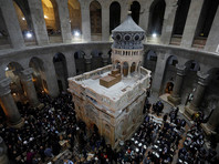 В Иерусалиме открылась отреставрированная часовня над Гробом Господним