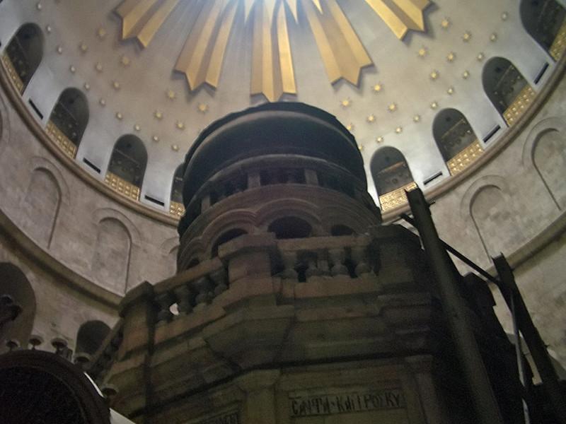 Завершена первая за 200 лет реставрация часовни над Гробом Господнем в Иерусалиме