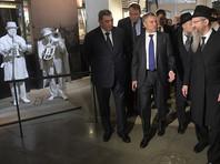 Володин и Толстой перед Песахом сходили в еврейский музей