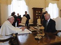 Американский лидер встретился с главой Римско-католической церкви в официальной папской резиденции - Апостольском дворце