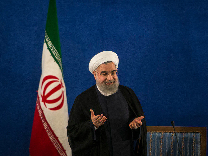Президент Ирана Хасан Рухани заявил эмиру Катара Тамиму бин Хамад Аль Тани, что Иран считает неприемлемой блокаду Катара рядом арабских стран и готов оказывать ему поддержку