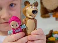 """Создатели популярного российского мультфильма """"Маша и Медведь"""" считают, что сериал ждет успех в арабских странах"""