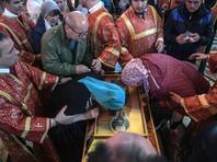 Мощам святителя Николая, привезенным в Москву, поклонились уже без малого полмиллиона верующих