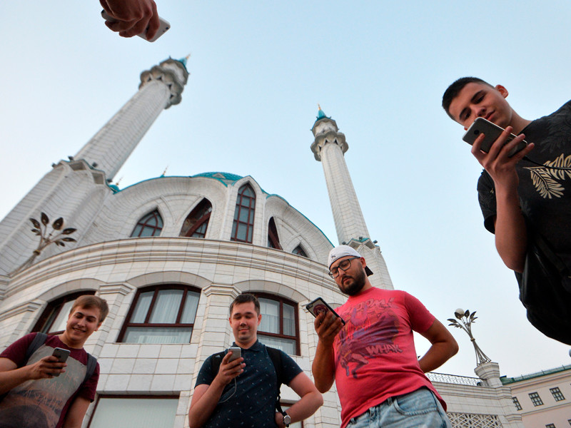 Казань, июль 2016 года