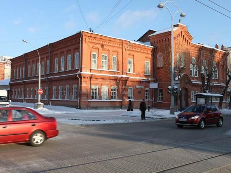 Свердловский мужской хоровой колледж на проспекте Ленина