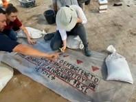 В израильском Ашдоде обнаружили мозаику грузинского храма VI века (ВИДЕО)