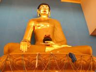 В Калмыкии потребовали извинений от ТНТ за показанную статуэтку Будды в традиционном для буддийской иконографии любовном соитии