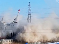 В Китае разрушили второй за месяц католический храм