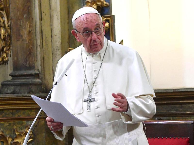Папа римский Франциск в ходе визита в Чили встретился с жертвами сексуального насилия со стороны католических священников