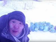В Якутске местный волонтер собрал 14 пакетов мусора возле купели после крещенских купаний