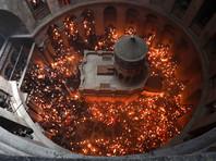 Армянский священник шокировал  коптского коллегу рассказом о том, как  зажигается  благодатный огонь в храме Гроба Господня